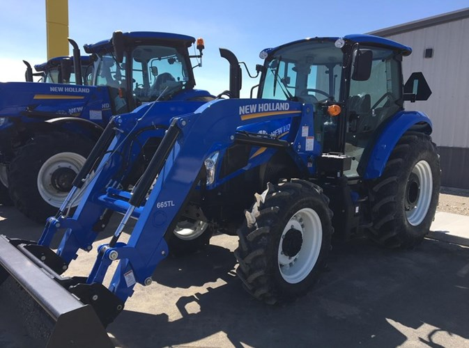 2017 New Holland T4.100:-CAB- North America Tractor For Sale