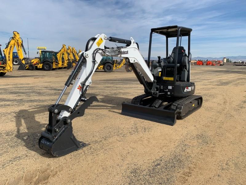 2021 Bobcat E26 T4 Excavator-Mini For Sale
