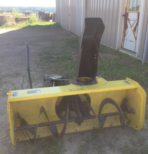 2013 John Deere 44 Snow Blower For Sale