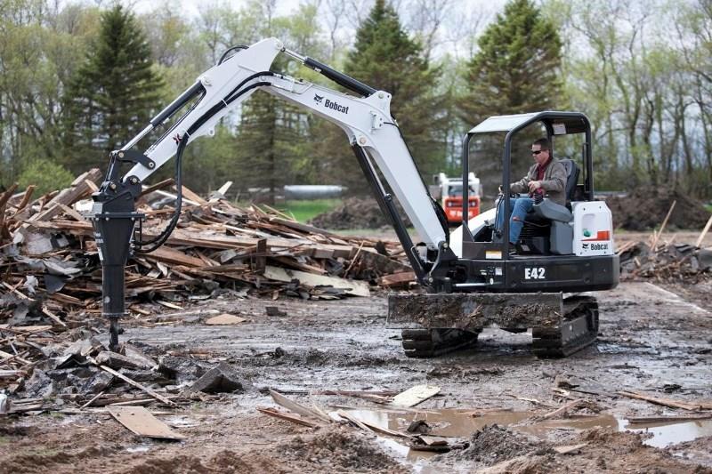2021 Bobcat E42 Excavator-Mini For Sale