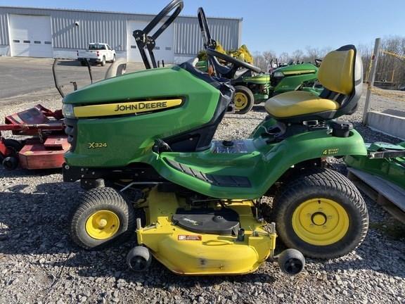 2011 John Deere X324 Lawn Mower For Sale