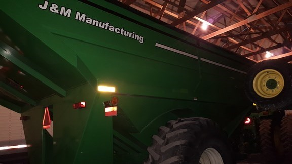 2010 J & M 1050-20S Grain Cart For Sale