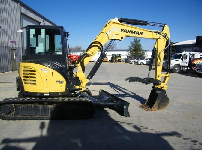 2018 Yanmar VIO55-6A Excavator-Mini For Sale