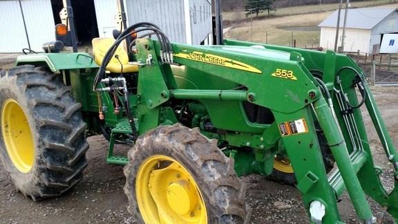 2013 John Deere 5065E Tractor For Sale