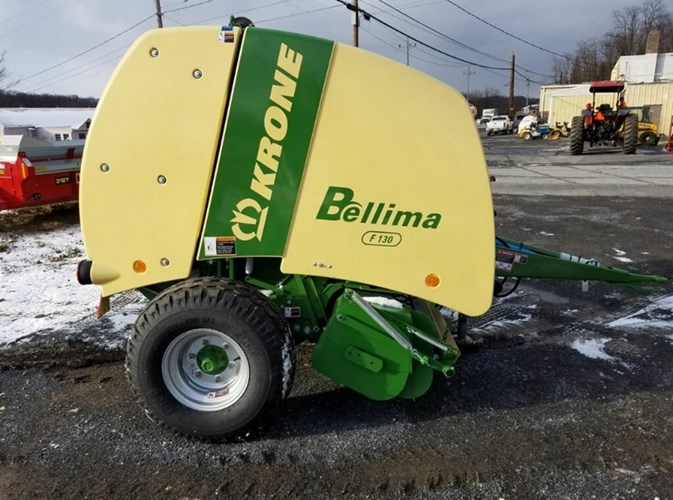 2018 Krone F130D Baler-Round For Sale