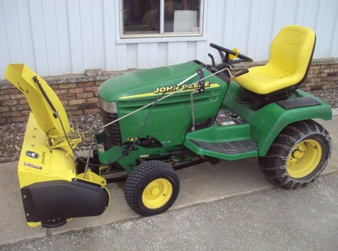 2001 John Deere 345 Riding Mower For Sale