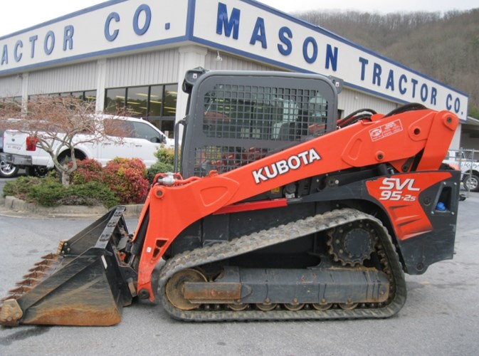 2016 Kubota SVL95-2SHC Skid Steer-Track For Sale