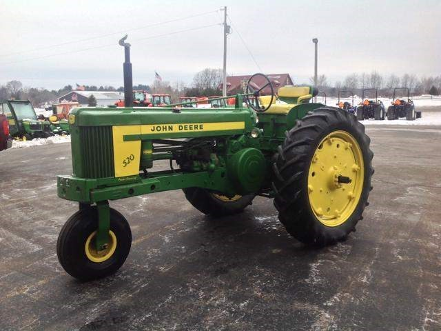 1958 John Deere 520 Tractor For Sale