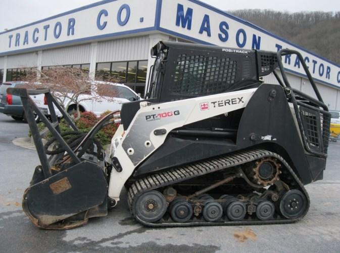 2012 Terex PT-100G Mulcher For Sale