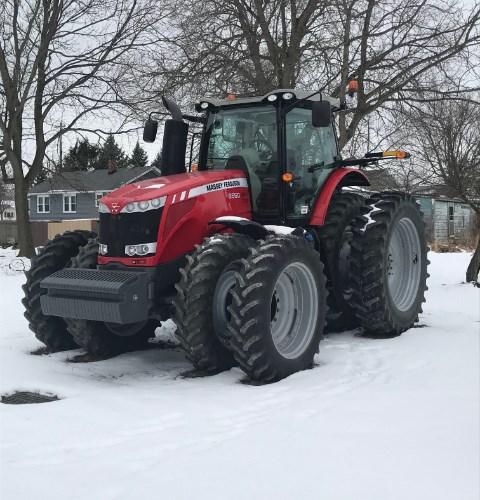 2013 Massey Ferguson 8660 Tractor For Sale