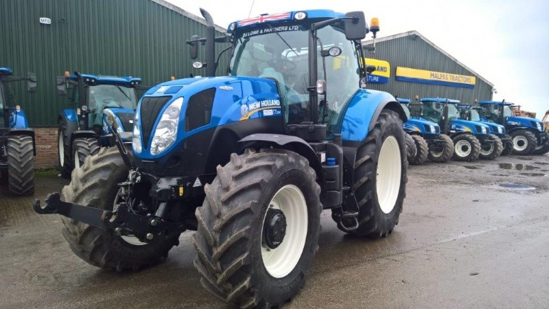 2015 New Holland T7.200 T4A AUTO COMMAND S/WINDER Image 1
