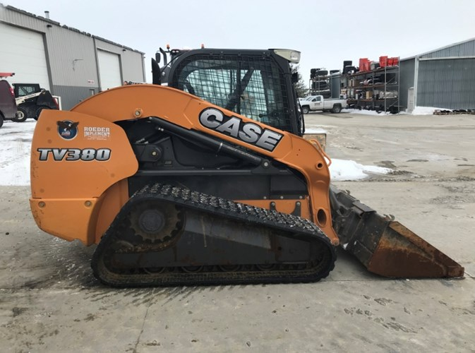 2012 Case TV380 Skid Steer-Track For Sale