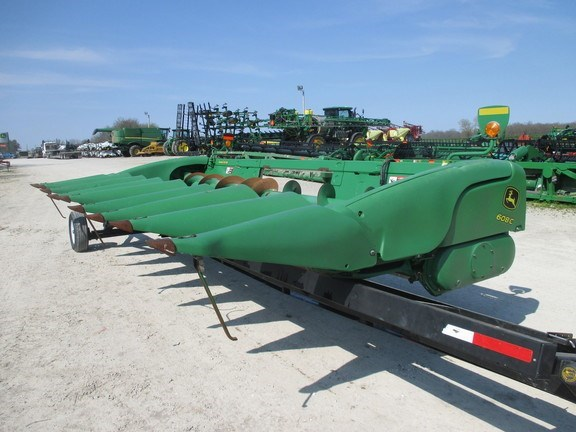 2013 John Deere 608C Header-Corn For Sale