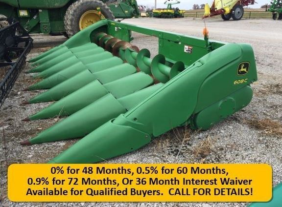 2012 John Deere 608C Header-Corn For Sale