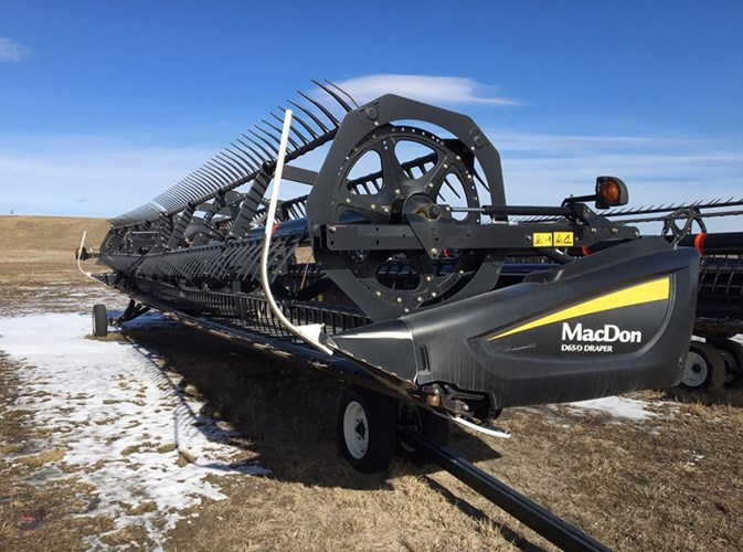 2014 MacDon D65 DRAPER HEADER Header-Draper/Rigid For Sale