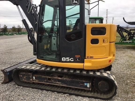 2014 John Deere 85G Excavator-Track For Sale