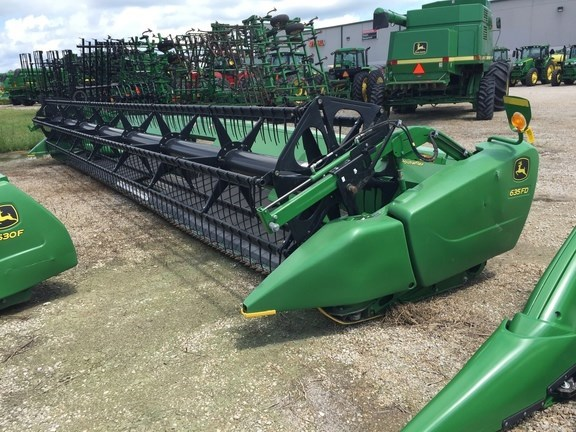 2014 John Deere 635FD Header-Draper/Flex For Sale