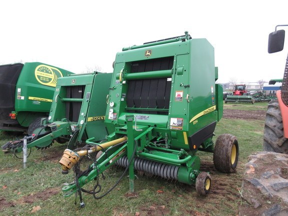 2015 John Deere 854 Silage Special Baler-Round For Sale