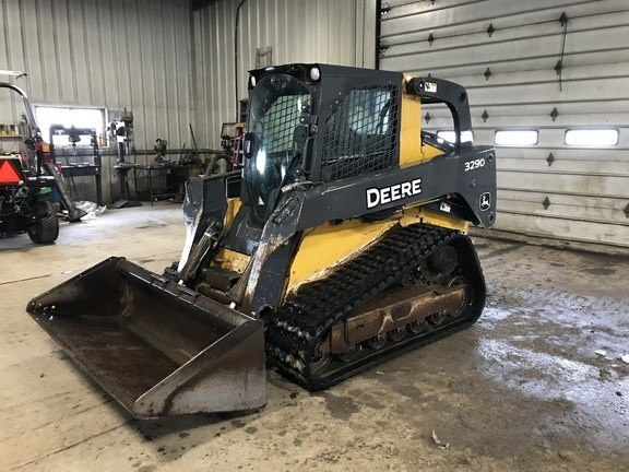 2011 John Deere 329D Skid Steer-Track For Sale