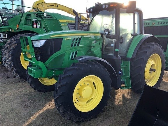 2017 John Deere 6155M Tractor - Row Crop For Sale