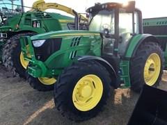 Tractor - Row Crop For Sale 2017 John Deere 6155M , 155 HP