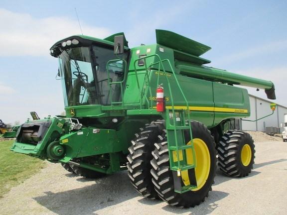 2008 John Deere 9670 STS Combine For Sale