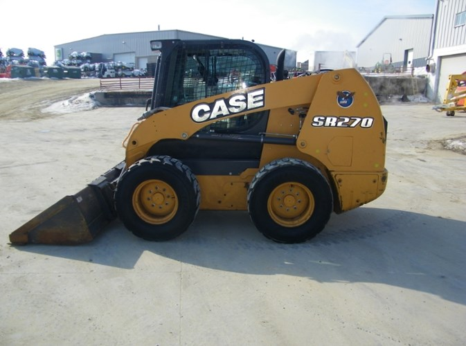 2015 Case SR270 Skid Steer For Sale