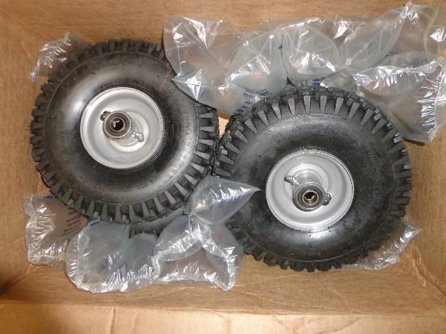 2015 Univerco Eco-Weeder Pneumatic Tires - Set of 4 Wheels and Tires For Sale