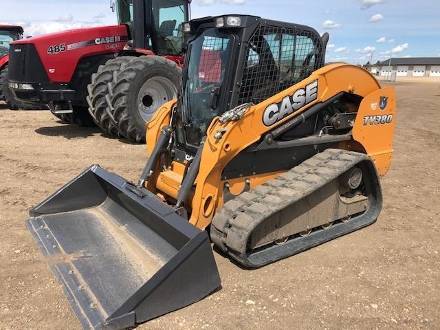 2012 Case TV380 Crawler Loader For Sale