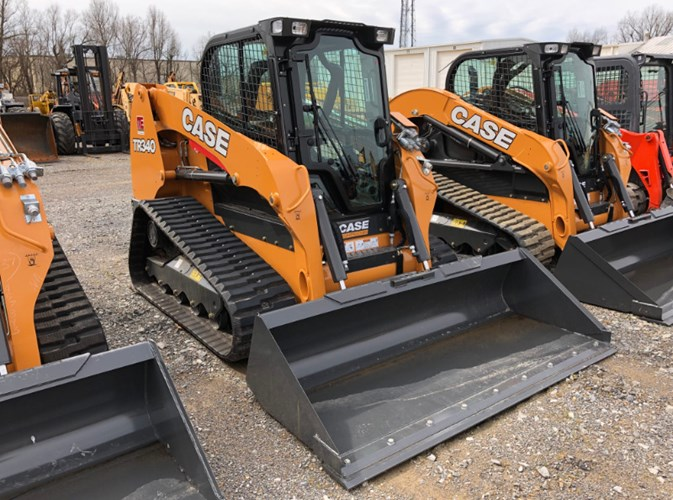 Case TR340 Skid Steer-Track For Sale