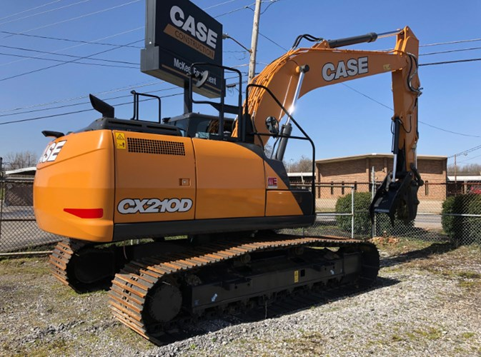 Case CX210D Excavator-Track For Sale