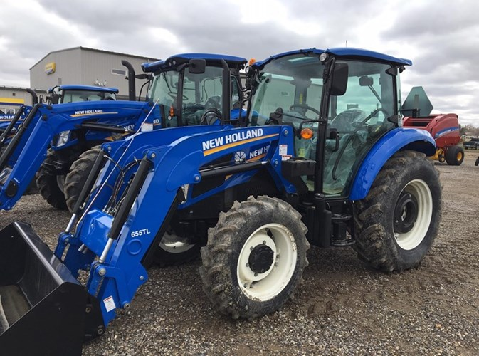 2019 New Holland POWERSTAR 75:-Cab Tractor For Sale
