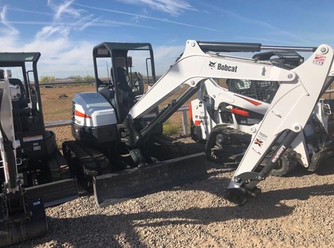 Bobcat E45 T4 Excavator-Track