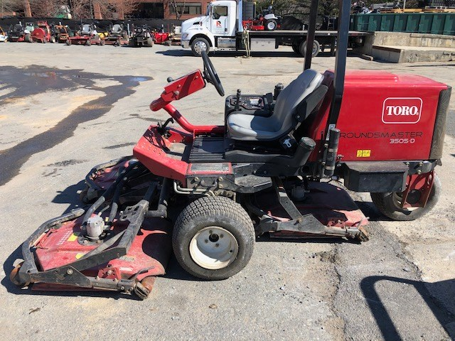 Toro GROUNDSMASTER 3505D Riding Mower For Sale