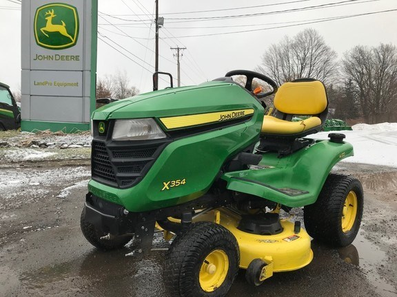 2017 John Deere X354 Lawn Mower For Sale