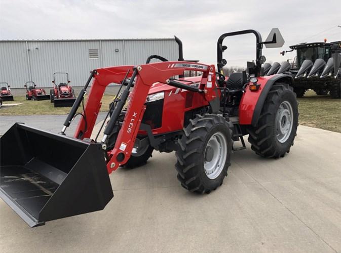 2019 Massey Ferguson 4708 Tractor For Sale