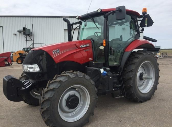 2016 Case IH MAXXUM 115 Tractor For Sale
