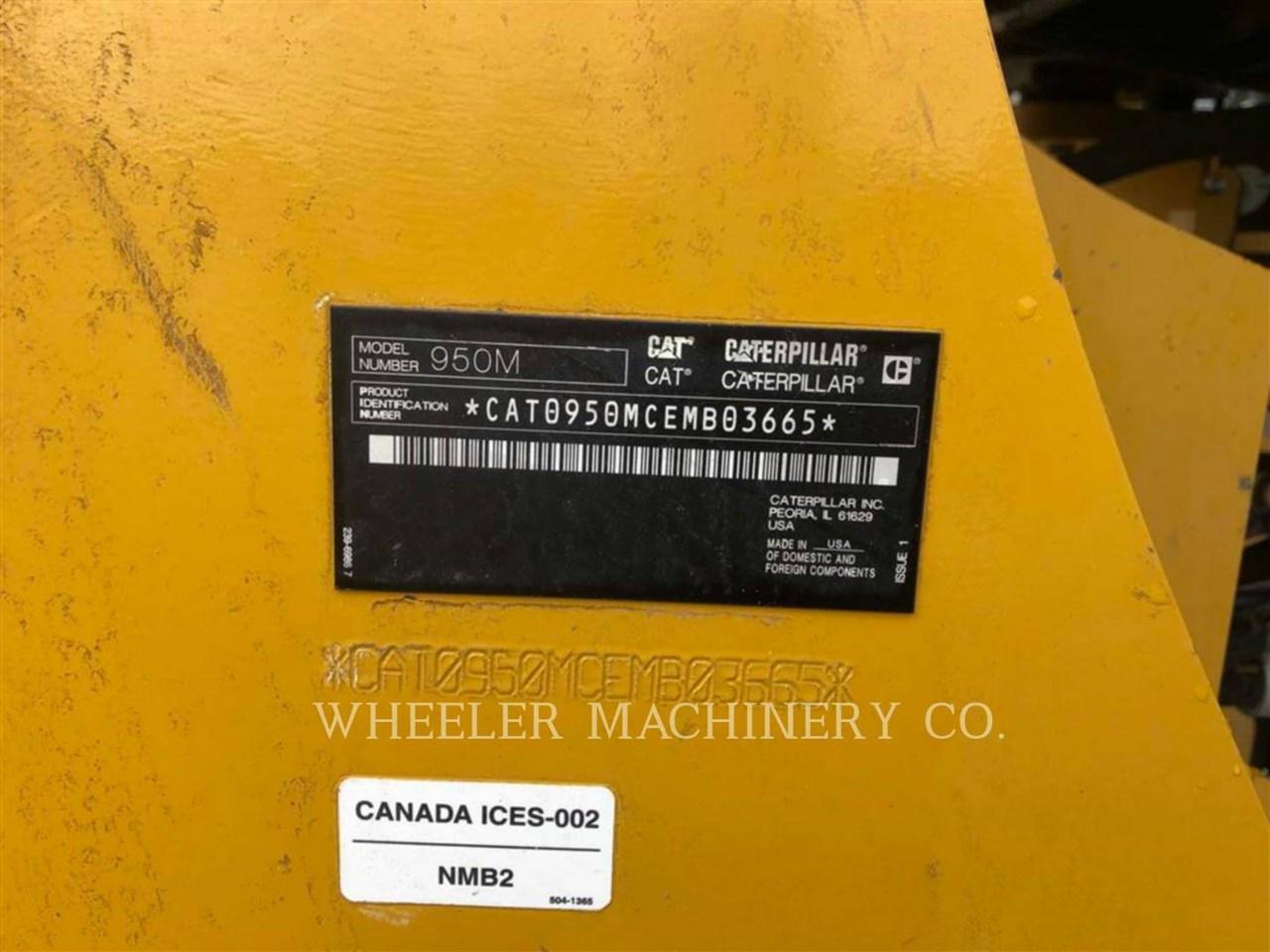 2017 Caterpillar 950M QC Image 2