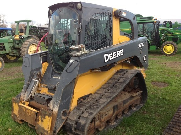 2013 John Deere 333E Skid Steer-Track For Sale
