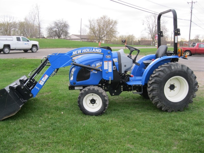 2016 New Holland Workmaster 37 Tractor For Sale 187 Flint