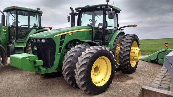 2009 John Deere 8345R Tractor - Row Crop For Sale