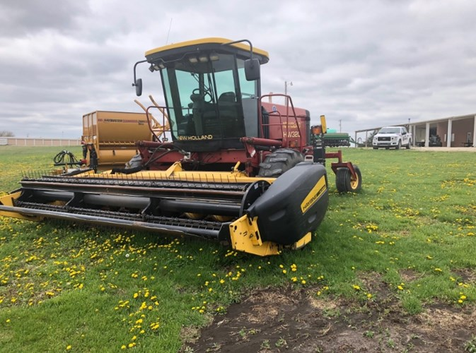 2003 New Holland HW320 Windrower-Self Propelled For Sale