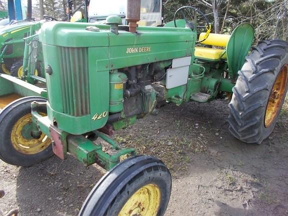 1958 John Deere 420 Tractor For Sale