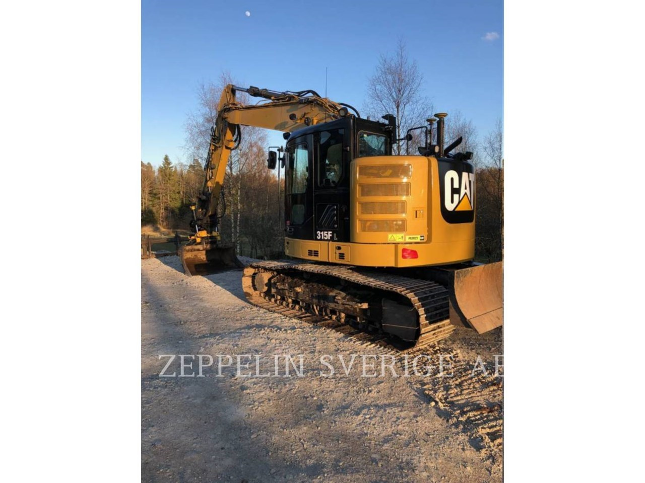 2017 Caterpillar 315FL Image 2