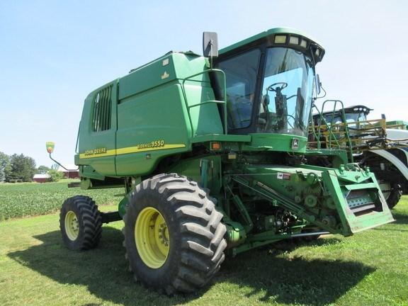 2002 John Deere 9550 Combine For Sale