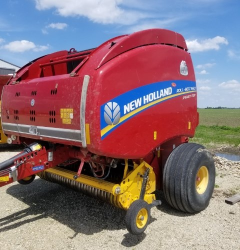 2015 New Holland RB560 Baler-Round For Sale