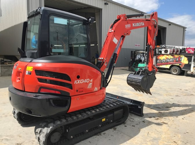 2018 Kubota KX040-4R3A Excavator-Mini For Sale