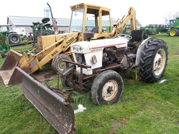 1975 David Brown 885G Tractor For Sale