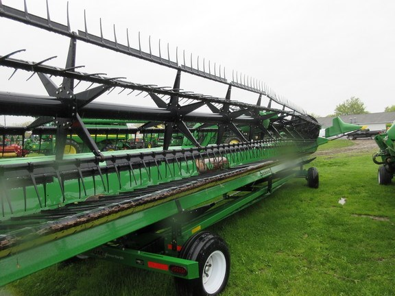 2014 John Deere 640FD Combine Header-Draper/Flex For Sale