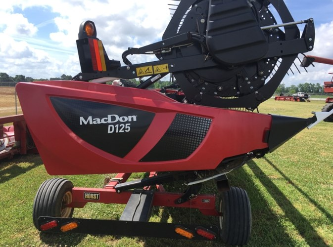2018 MacDon D125 Header-Draper/Rigid For Sale